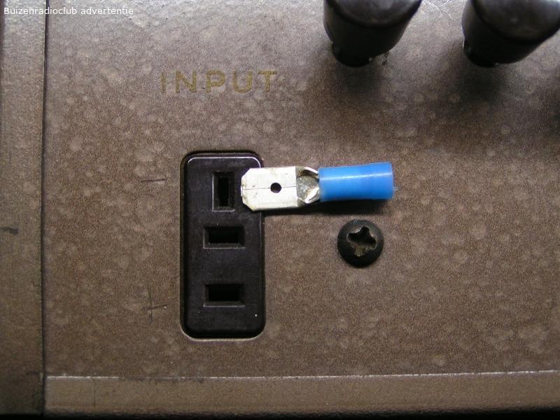 connector voor webster chicago draadrecorder