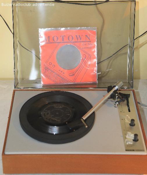 VEB RFT Ziphona Rubin grammofoon